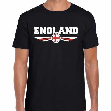 Engeland / england landen shirt met engelse vlag zwart voor heren kopen