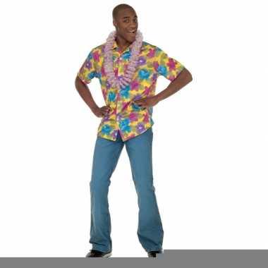 Geel Hawaii overhemd voor heren kopen