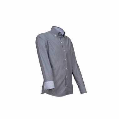 Grijs Overhemd Heren.Giovanni Grijs Heren Overhemd Kopen T Shirts Kopen Nl