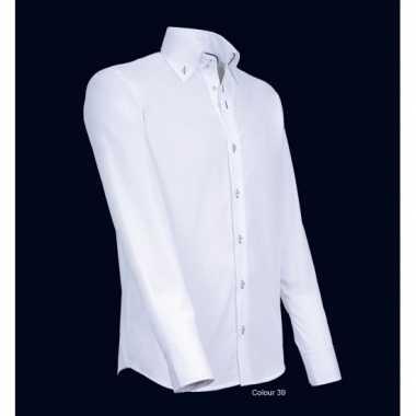 Overhemd Kopen.Giovanni Wit Heren Overhemd Kopen T Shirts Kopen Nl
