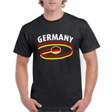 Heren shirt zwart Duitsland