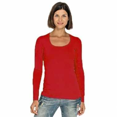 shirt rood dames
