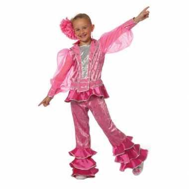 5a667f4f8acf00 Roze disco kostuum voor meiden | T-shirts-kopen.nl