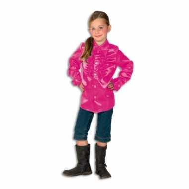 246640303d2bf5 Roze hippie blouse voor meisjes | T-shirts-kopen.nl