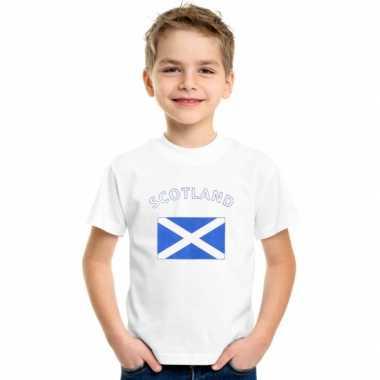 Schotse vlag t-shirts voor kinderen kopen