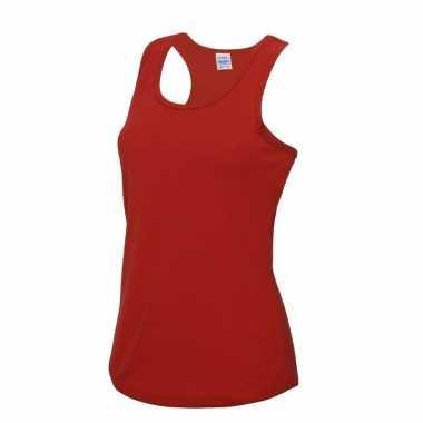 0a86dfd2702 Sportkleding sneldrogend rode dames hemd kopen