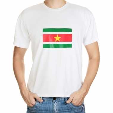 Suriname vlag t-shirts in grote maten kopen