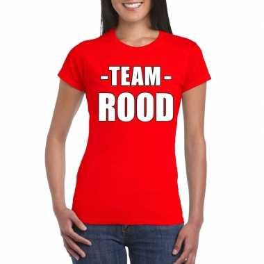 team shirts kopen