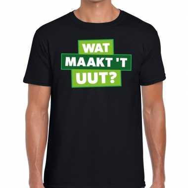 Wat maakt t uut zwarte cross t-shirt zwart voor heren kopen