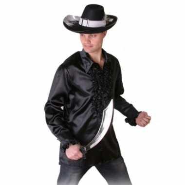 Overhemd Zwart Heren.Zwart Heren Piraten Overhemd Kopen T Shirts Kopen Nl