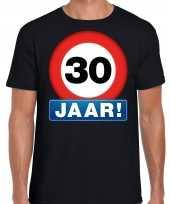 30e verjaardag stopbord shirt kleding 30 jaar zwart voor heren kopen