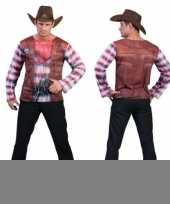 3d cowboy shirt voor heren kopen