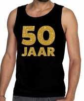 50 jaar fun tanktop mouwloos shirt zwart voor heren kopen