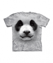 All over print kids t shirt met panda kopen