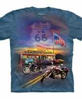 All over print t shirt route 66 kopen