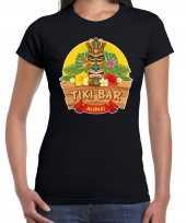 Aloha tiki bar hawaii shirt beach party outfit kleding zwart voor dames kopen