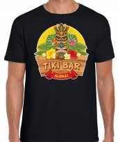 Aloha tiki bar hawaii shirt beach party outfit kleding zwart voor heren kopen