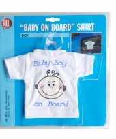Baby on board t shirt boy kopen