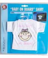Baby on board t shirt girl kopen