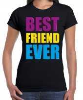 Best friend ever beste vriend ooit fun verjaardag t-shirt zwart voor dames kopen