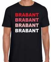 Brabant provincie shirt zwart voor heren kopen