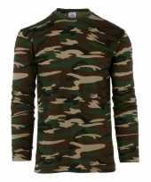 Camouflage shirt longsleeve kopen