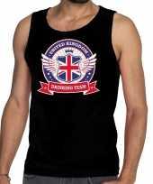 Engeland drinking team tanktop mouwloos shirt zwart heren kopen