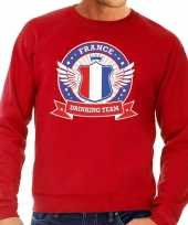 France drinking team sweater rood heren kopen