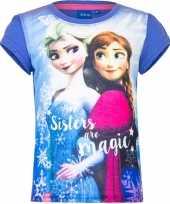 Frozen shirt korte mouw violet voor meiden kopen