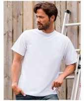 Grote maat heren t-shirts maat 4xl wit kopen