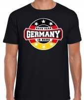 Have fear germany duitsland is here supporter shirt kleding met sterren embleem zwart voor heren kopen
