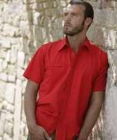 Kleding casual shirt korte mouw kopen