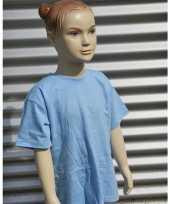Kleding kinder t shirt lichtblauw kopen