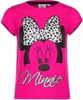 Minnie mouse shirt korte mouw roze voor meiden kopen 10076465