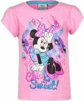Minnie mouse shirt korte mouw roze voor meiden kopen