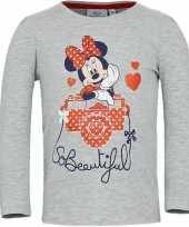 Minnie mouse shirt lange mouw grijs voor meisjes kopen