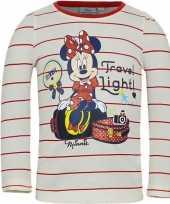 Minnie mouse shirt lange mouw wit voor meisjes kopen