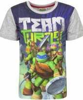 Ninja turtles shirt voor kinderen grijs kopen