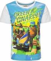 Ninja turtles shirt voor kinderen wit kopen