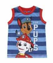 Paw patrol kinder t-shirt zonder mouwen kopen