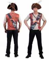 Piraten t-shirt 3d print voor heren kopen