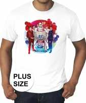 Plus size officieel toppers in concert 2019 t-shirt wit heren kopen