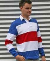 Rugbyshirt in holland kleuren kopen