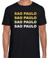 Sao paulo brazilie steden shirt zwart voor heren kopen