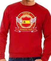 Spain drinking team sweater rood heren kopen